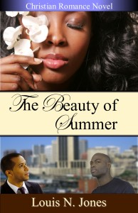 Cover Photo of The Beauty of Summer, a Christian Romance Novel